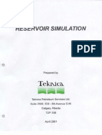Teknica Reservoir Simulation 2001