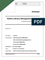 Online Library Management System, SRS, PHP MySql Abhishek Bhardwaj, Live demonstration & Coding @ http://abhishekbhardwaj.tk