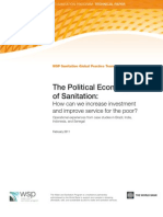 WSP Political Economy of Sanitation