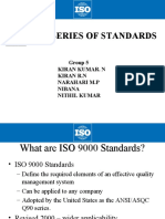 ISO 9000 Series of Standards