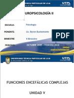 Neuropsicologia II Funciones Cerebra Les Complejas