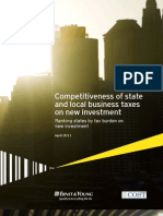 COST Competitiveness of State and Local Business Taxes