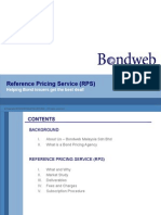 Reference Pricing Service From Bondweb Malaysia