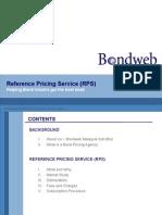 Reference Pricing Service From Bondweb Malaysia