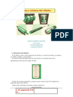 Área y volumen del cilindro