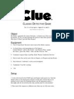 Clue Classic Manual