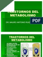 Clase Trastornos Del Metabolismo