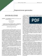 LEY ORGÁNICA 6/2002, de 27 de junio, de Partidos Políticos.