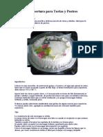 Relleno y Cobertura Para Tortas y Postres