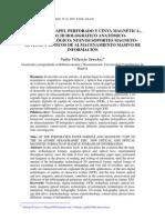 Del Soporte Papel Perforado y Cinta Magnetica Al Disco 3d Holografico Anatomico Nanotecnologico