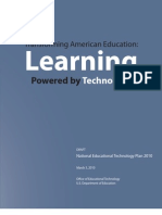 Transforming American Education Learning Powered by Technology