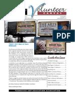 TAEA Newsletter Spring 2011