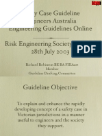 Safety Case Guidelines