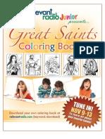 Saints Coloring Book