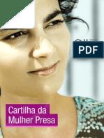 CNJ Cartilha Da Mulher Presa