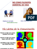 Coaching Como Filosofia Fundamental de Vida