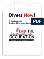 Handbook for Student Divestment Campaigns