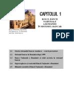 Rolul BNR in Sistemul Bancar