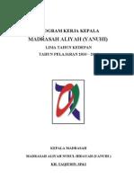 Program Kerja Kepala Ma1