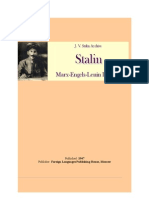 A Biography of Joseph Stalin