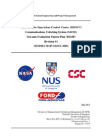 NASA Test and Evaluation Master Plan