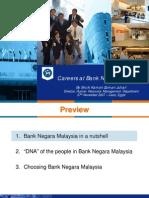 Bank Negara Career