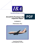 Pro in Version B737 FAP-356 Pre-Purchase & Re Delivery Report FINAL