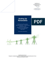 Scaling Up Renewables Executive Summary 2011