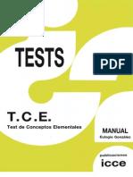 T.C.E - Manual (Muestra)