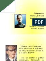 Diapositivas Eleazar Lopez Contreras