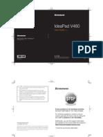 Lenovo IdeaPad V460 User Guide V1.0