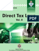 CA Final  - Direct Tax Laws Vol. II