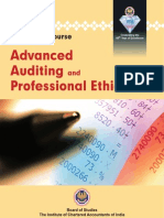 Adcanced Auditing and Professional Ethics Vol. 2