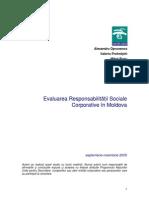 Responsabiitatea Sociala Corporativa Rom