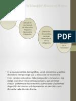 Finalidades de la Educación Básica en México