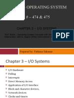 Ch3- Io Systems