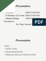 PMMC & EDM