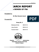 Research Report on Bonds of PIA