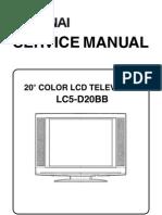 Funai LC5-D20BB Service Manual
