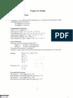 Calc Study Guide