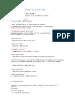Gramatica em frances explicaçoes