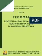 permen05-2008 (RTH)