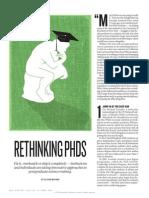 Rethinking Phds