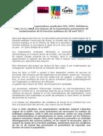Rgpp Communique Intersyndical28 Avril 2011