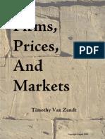 Van Zandt Lecture Notes
