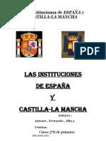 InstitucionesDeEspañaYCastillaLaMancha