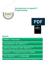 Introduction to OpenCL Programming (201005)