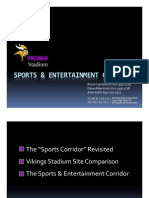 Vikings Stadium and sports corridor plan