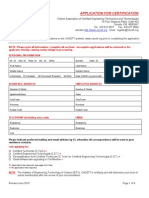 OACETT Membership Application
