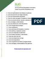 Agroislas Catálogo Cursos de Formación 2011